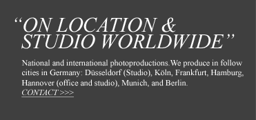 On Location & Studio Worldwide